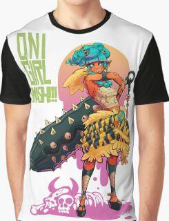 Oni Girl SMASH Graphic T-Shirt