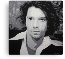 Michael Hutchence Canvas Print