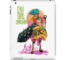 Oni Girl SMASH iPad Case/Skin