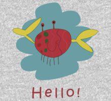 Hello Crab Kids Clothes
