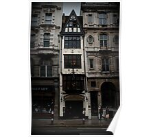Fleet Street: Ye Olde Cock Tavern Poster