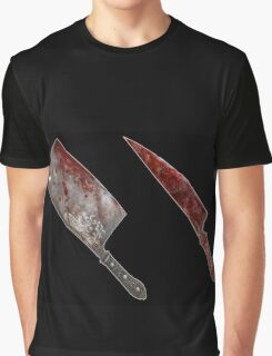 Bloody tools of death Graphic T-Shirt
