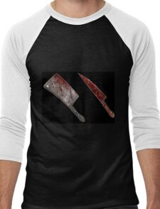Bloody tools of death Men's Baseball ¾ T-Shirt