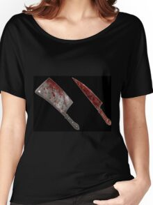 Bloody tools of death Women's Relaxed Fit T-Shirt
