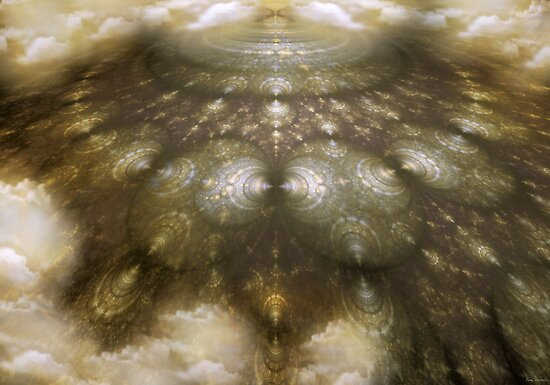 Many Paths One Mountain by Craig Hitchens - Spiritual Digital Art