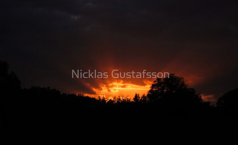 Sunset by Nicklas Gustafsson