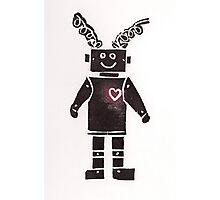 Heart Robot Photographic Print