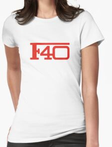 Ferrari F40 Womens Fitted T-Shirt