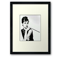 Class to the Nines Framed Print
