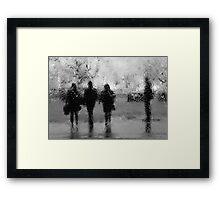 3 + 1 Framed Print