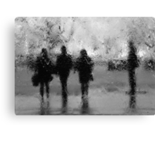 3 + 1 Canvas Print
