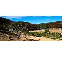 Little Water - Ross Graham Gorge - Kalbarri Photographic Print