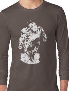 The Rocketeer - Black BG Long Sleeve T-Shirt