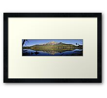 Pyramid Mountain, Jasper National Park Framed Print