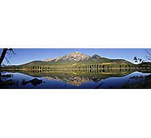 Pyramid Mountain, Jasper National Park Photographic Print