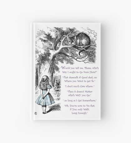 Cheshire Direction Hardcover Journal