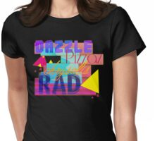 Moonbeam City-Characters Logo Womens Fitted T-Shirt