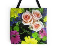 BOUQUET OF FLOWERS - THROW PILLOW Tote Bag