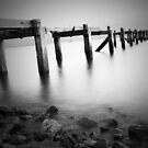 Old Aberdour Pier. by ninjabob