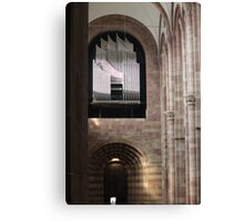 Organ in Speyer Cathedral Canvas Print
