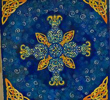 Celtic Cross by Lynne Kells (earthangel)