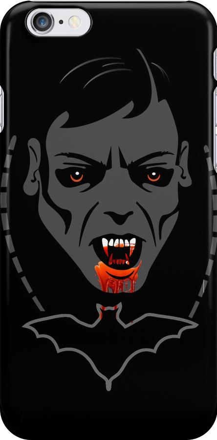Vampire iPod /iPhone 5 Case / iPhone 4 Case  / Samsung Galaxy Cases  by CroDesign
