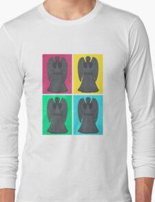 Weeping Angels Pop Art Long Sleeve T-Shirt