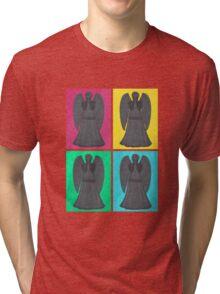 Weeping Angels Pop Art Tri-blend T-Shirt