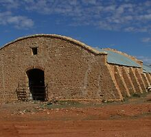 Cordillo Downs Woolshed - Built in 1883 by Liz Worth