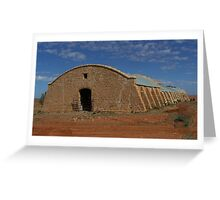 Cordillo Downs Woolshed - Built in 1883 Greeting Card