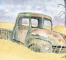 Old rusty truck by Eva  Ason