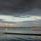 Dutch Light near Goese Sas on the Eastern Scheldt, The Netherlands by M. van Oostrum