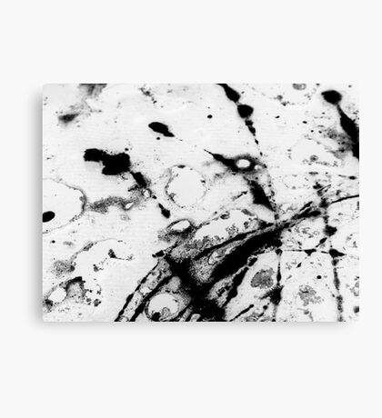 Oil & Water #1 Canvas Print