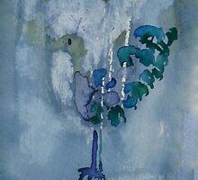 Strange bird iPhone case by © Pauline Wherrell