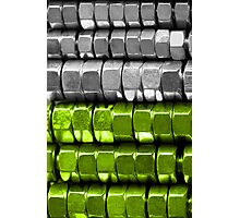 Absolutely Nuts Lime Green Wall Art I Photographic Print