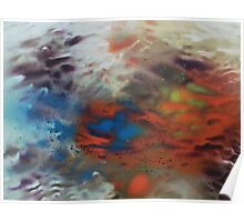 Sunrise obscured by Clouds Poster