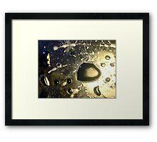 Oil & Water #10 Framed Print