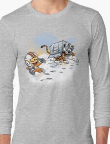 Attack of the Deranged Killer Snow Walkers Long Sleeve T-Shirt
