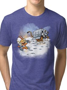 Attack of the Deranged Killer Snow Walkers Tri-blend T-Shirt