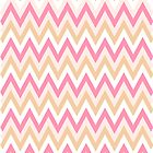 Sweet Pink Chevron Design by sweettoothliz