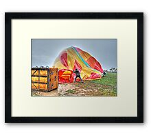 Blow It Up Framed Print