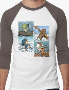 Playful Rebels Men's Baseball ¾ T-Shirt