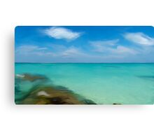 Playa Norte with oil Canvas Print