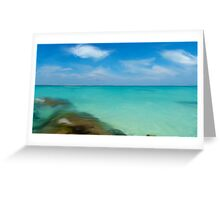 Playa Norte with oil Greeting Card