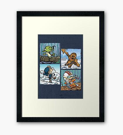 Playful Rebels Framed Print