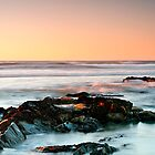 The beach at Melkbosstrand, West Coast, South Africa by John  Paper