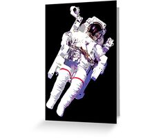 Floating Astronaut Greeting Card