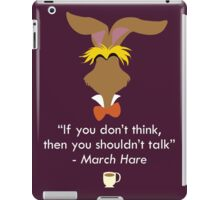 The March Hare iPad Case/Skin