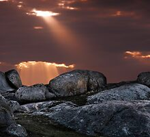 Rays at the Rocks by John Conway