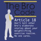 Bro Code Article 96 by CodedClothing